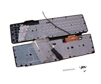 teclado de membrana sin ruido