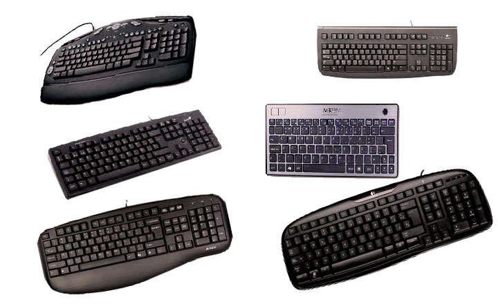 Tipos de teclado de ordenador